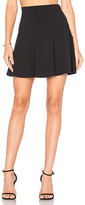 Susana Monaco High Waist Flare 16 Skirt in Black. - size M (also in )