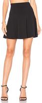 Susana Monaco High Waist Flare 16 Skirt in Black
