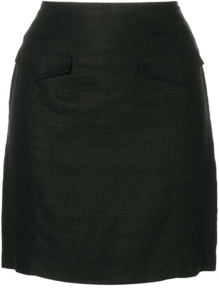 Versace Pre-Owned Mini Fitted Skirt
