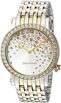 Juicy Couture Women's 'LA LUXE' Quartz Gold and Stainless Steel Casual Watch, Color:Two Tone (Model: 1901559)
