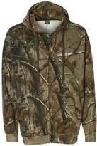 Code V Realtree Adult Camouflage Full-Zip Hooded Sweatshirt (Realtree Ap) (3X)