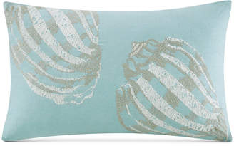 """Harbor House Cannon Beach 12"""" x 20"""" Embroidered Oblong Decorative Pillow Bedding"""