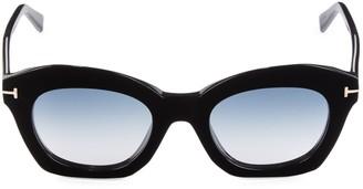 Tom Ford 53MM Geometric Sunglasses