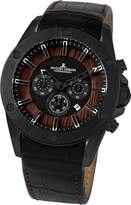 Jacques Lemans Liverpool Wood 1-1690B - Men's Watch