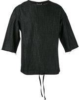 Numero 00 Numero00 - Teem denim T-shirt - men - Cotton - S