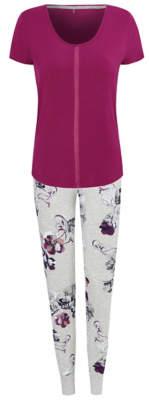 George Plum Floral Print Pyjamas