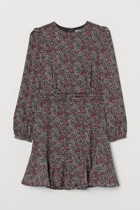 H&M Patterned Dress - Gray