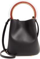 Marni Pannier Top Handle Leather Bucket Bag