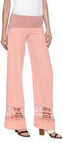 Hailey Jeans Co. Crochet Linen Pants