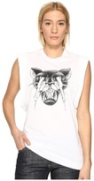 DSQUARED2 Renny Fit Cat Muscle T-Shirt Women's T Shirt