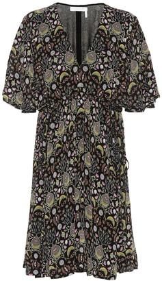 Chloé Printed crepe dress