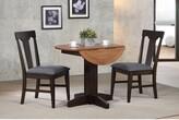 Yvonne Drop Leaf Dining Table Gracie Oaks Color: Black Oak