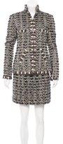 Chanel Paris-Bombay Metallic Skirt Suit w/ Tags