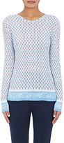 Tory Sport Women's Cotton Long-Sleeve T-Shirt-WHITE