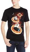 Goodie Two Sleeves Men's Invader Pandas On Pizza T-Shirt