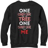 Fifth Sun Black 'One Candy Cane for Me' Fleece Sweatshirt - Men's Regular