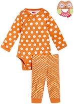 Skip Hop Pop Prints 3-Piece Gift Set (Baby) - Tangerine-0-3 Months