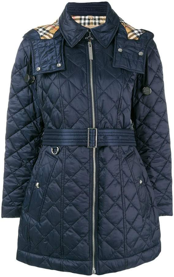 Burberry quilted field jacket