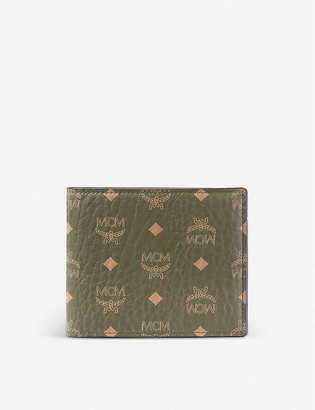MCM Visetos canvas billfold wallet