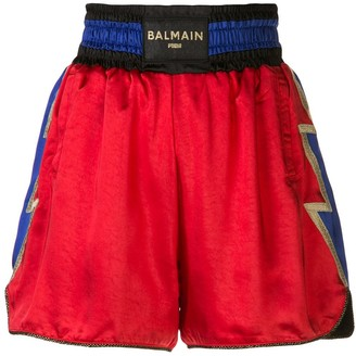 Puma x Balmain boxing shorts