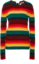 No.21 No. 21 Rainbow Striped Pullover