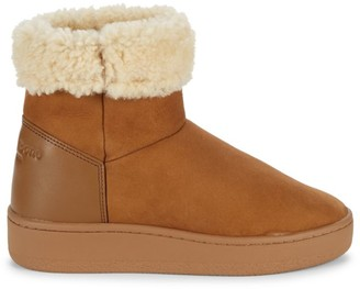 Rag & Bone Oslo Shearling-Lined Suede Boots