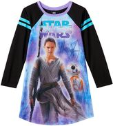 Star Wars Episode VII The Force Awakens Girls 6-14 Rey Nightgown