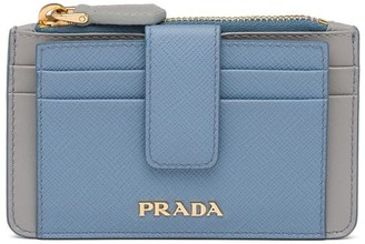 Prada Snap-Tab Card Holder