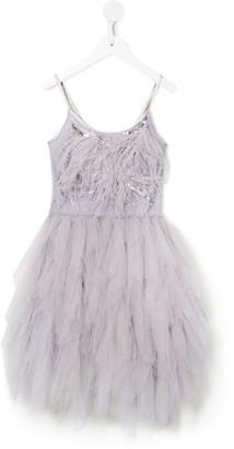 Tutu Du Monde Willow Wanderer feather-trimmed tutu dress