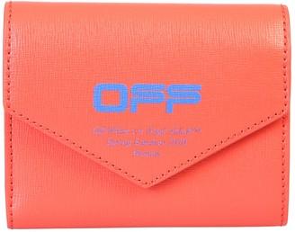 Off-White Off White Logo Print Wallet