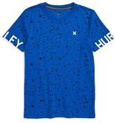 Hurley Boy's Overspray T-Shirt