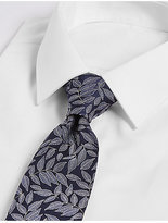 M&S Collection Pure Silk Printed Tie