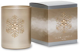 Primal Elements Snowflake Gold Icon Candle
