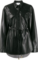 Nanushka Tie-Waist Single Breasted Jacket