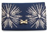 Ted Baker Starla Stardust Bow Clutch - Blue
