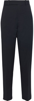 Equipment Warsaw Embroidered Wool-twill Tapered Pants