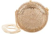 Judith Leiber Mini Crystal Embellished Crossbody Bag
