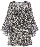 Eliza J Bell Sleeve A-Line Dress