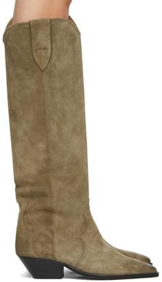 Isabel Marant Taupe Denvee Boots