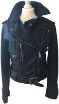 Denim & Supply Ralph Lauren Black Leather Leather Jacket for Women