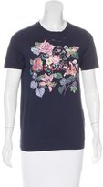 Christian Lacroix Short Sleeve Printed Top