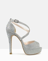 betts Razzle Embellished Platform Pumps