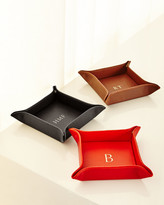 Graphic Image Personalized Leather Valet Tray
