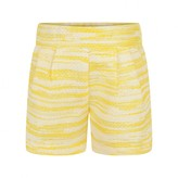 Chloé ChloeBaby Girls Yellow Tweed Shorts