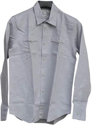 MAISON KITSUNÉ Grey Cotton Shirts