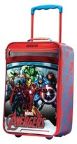 "American Tourister Marvel Avengers Softside Carry On Luggage - Red/Blue (18"")"
