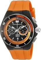 Technomarine Men's TM-115161 Cruise Sport Analog Display Quartz Orange Watch