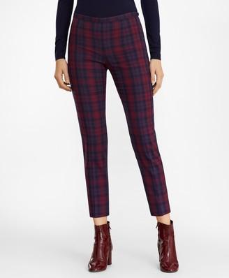 Brooks Brothers Slim-Fit Tartan Pants