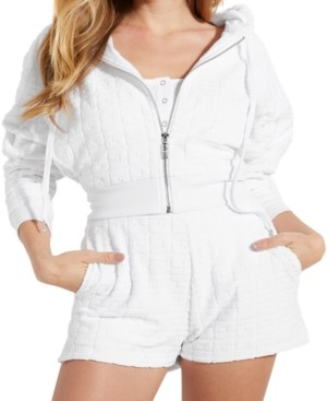 GUESS Zip-Up Logo Hooded Jacket