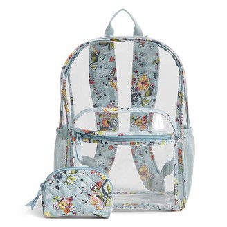 Vera Bradley Clearly Colorful Large Backpack Set